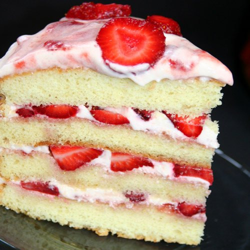 Best Strawberry Cake Recipe  301 Moved Permanently