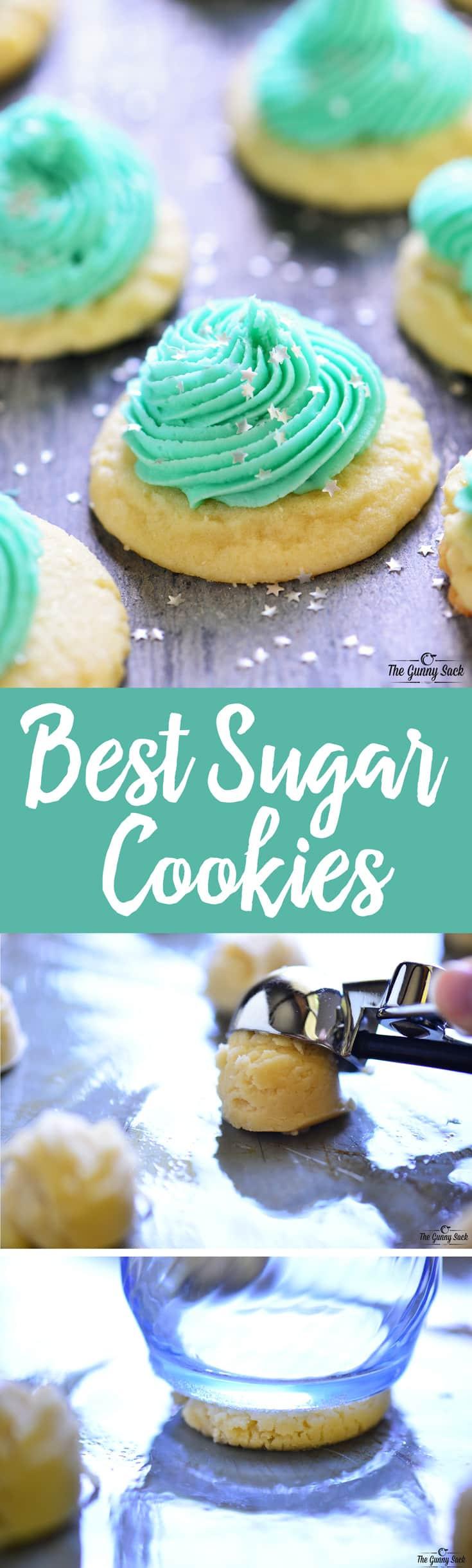 Best Sugar Cookies  Best Sugar Cookie Recipe The Gunny Sack