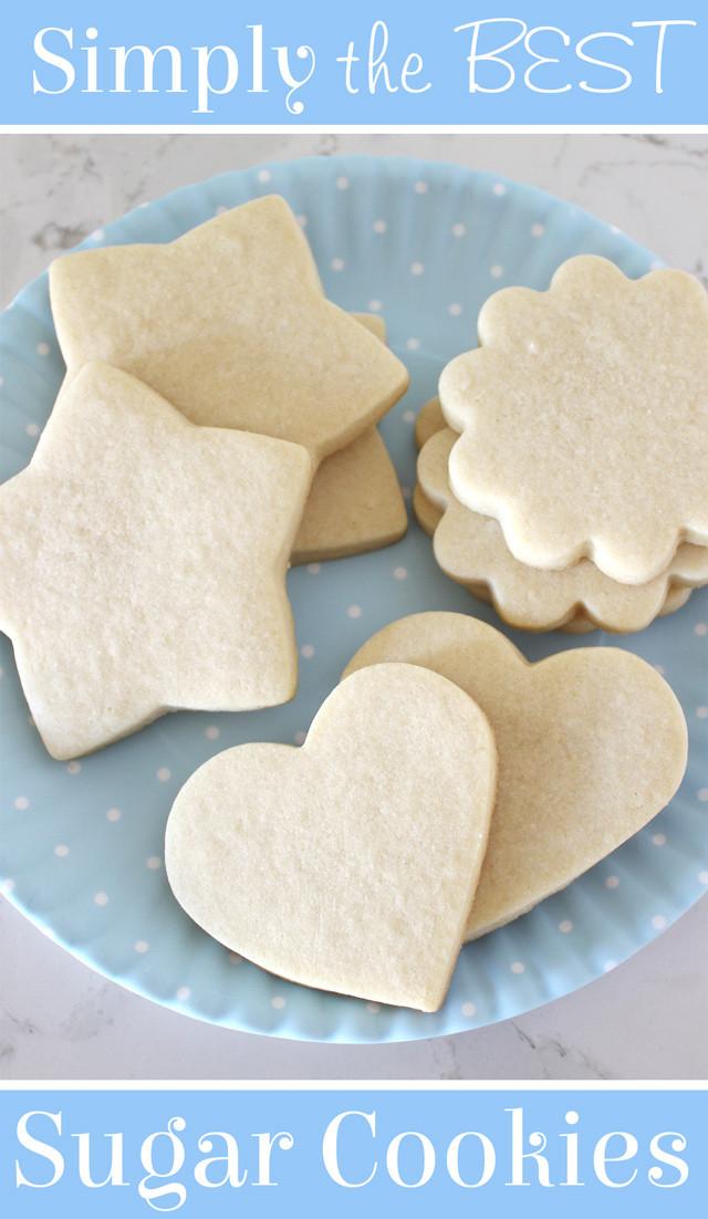 Best Sugar Cookies  Perfect Sugar Cookie Recipe – Glorious Treats