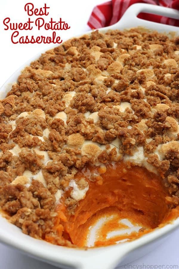 Best Sweet Potato Casserole Recipe Ever  The Best Sweet Potato Casserole CincyShopper