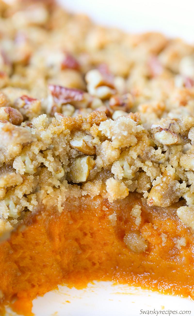 Best Sweet Potato Casserole Recipe Ever  The Best Sweet Potato Casserole Swanky Recipes