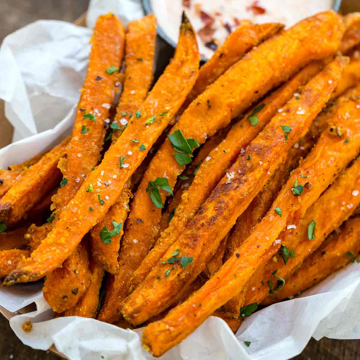 Best Sweet Potato Fries  Baked Sweet Potato Fries