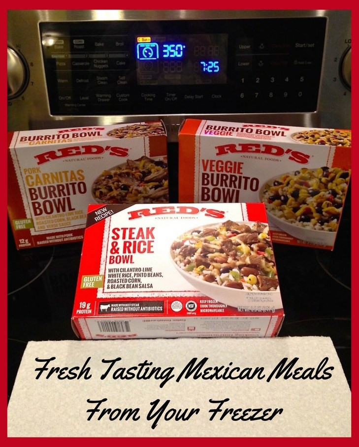 Best Tasting Frozen Dinners 2017  Fresh Tasting Mexican Meals From Your Freezer