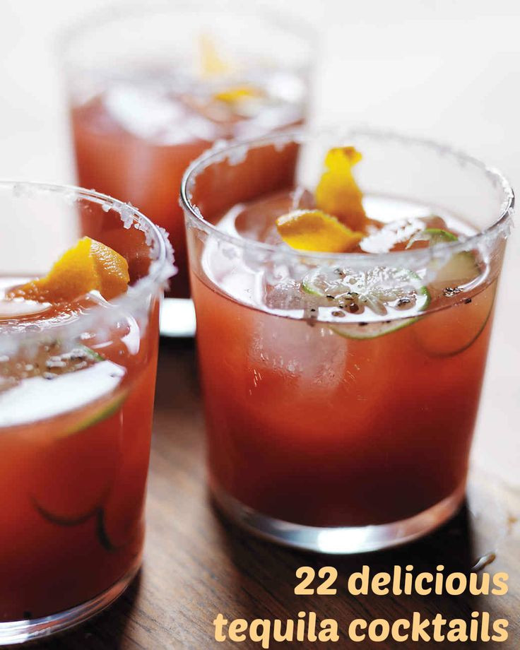 Best Tequila Drinks  524 best images about Summer Drink Ideas on Pinterest