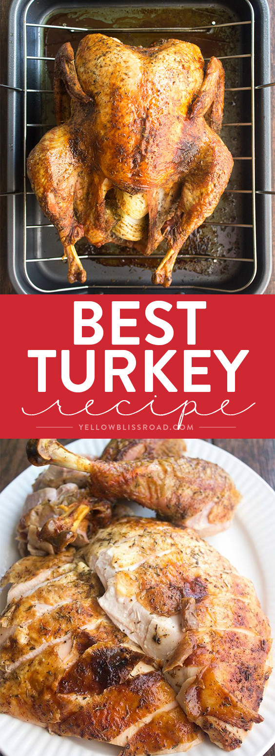 Best Thanksgiving Turkey Recipe Ever  Best Thanksgiving Turkey Recipe How to Cook a Turkey