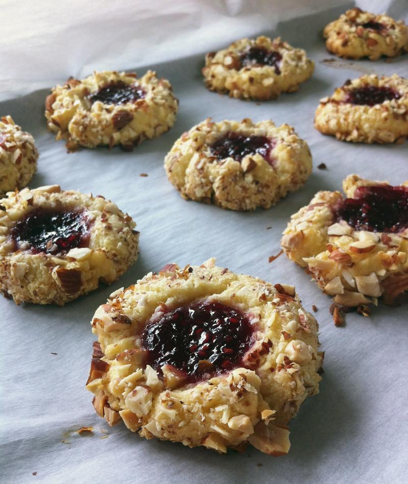Best Thumbprint Cookies  jam thumbprints recipe