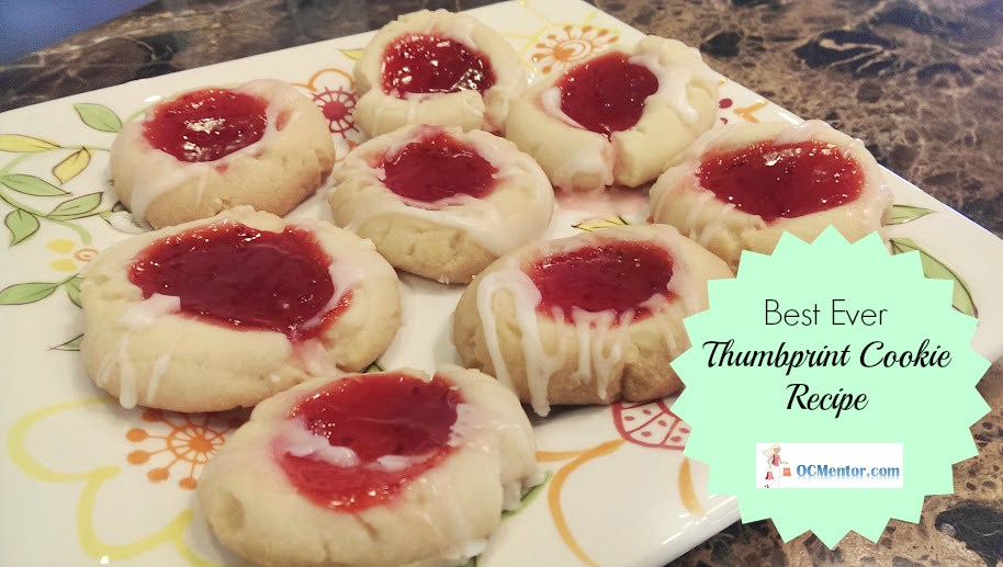 Best Thumbprint Cookies  Best Thumbprint Cookie Recipe with Jelly Filling The