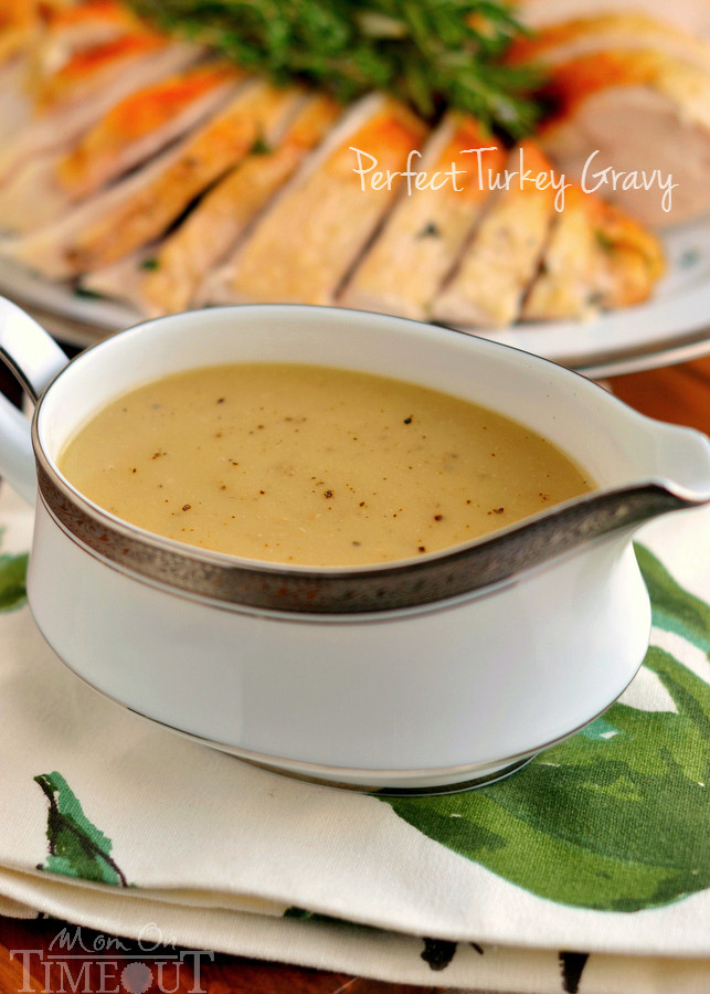 Best Turkey Gravy Recipe  The Best Turkey Gravy Recipe Mom Timeout