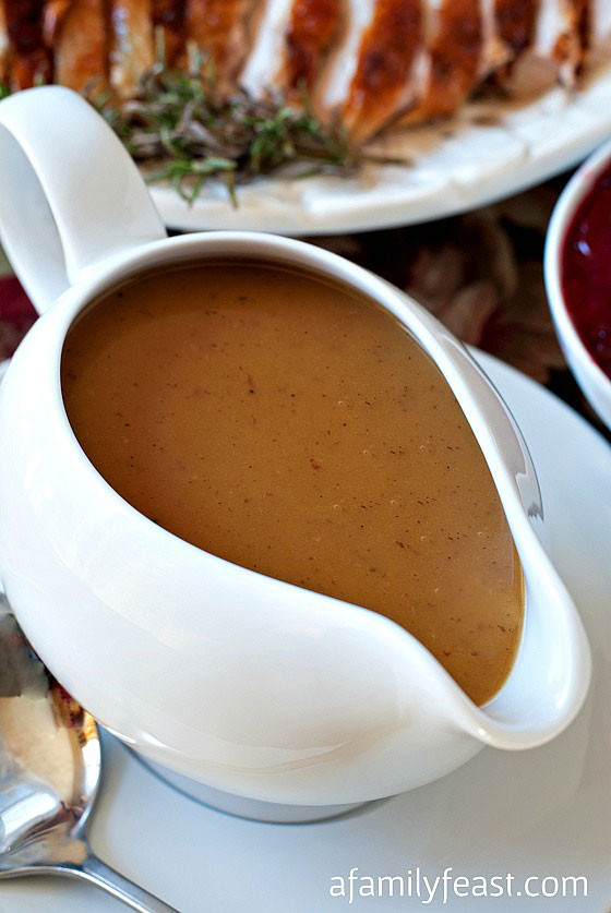 Best Turkey Gravy Recipe  Perfect Turkey Gravy A Family Feast