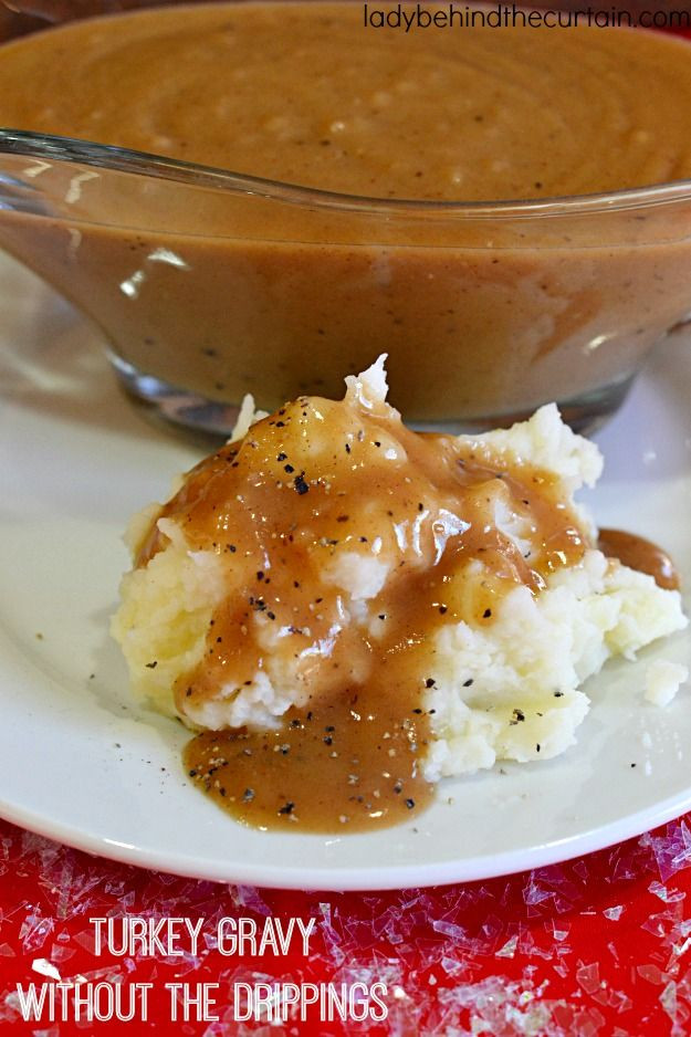 Best Turkey Gravy Recipe  Best 25 Easy turkey gravy ideas on Pinterest