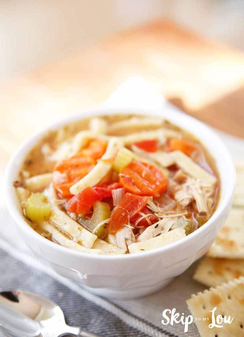 Best Turkey Soup  Turkey Noodle Soup