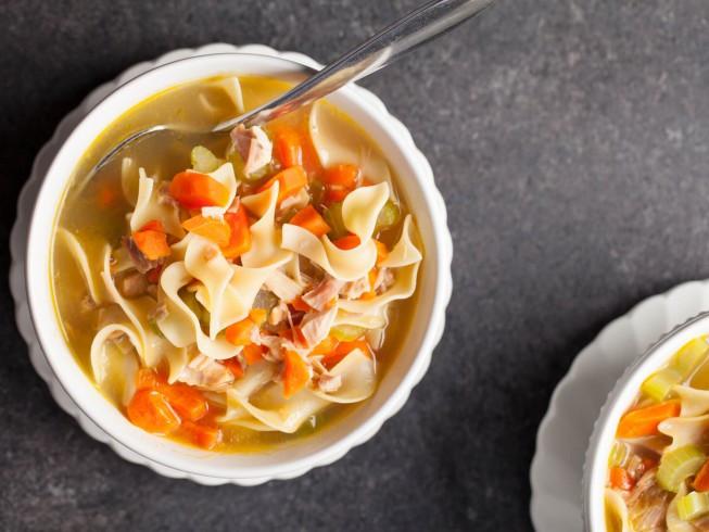 Best Turkey Soup  Dusty s Best Turkey Noodle Soup Recipe