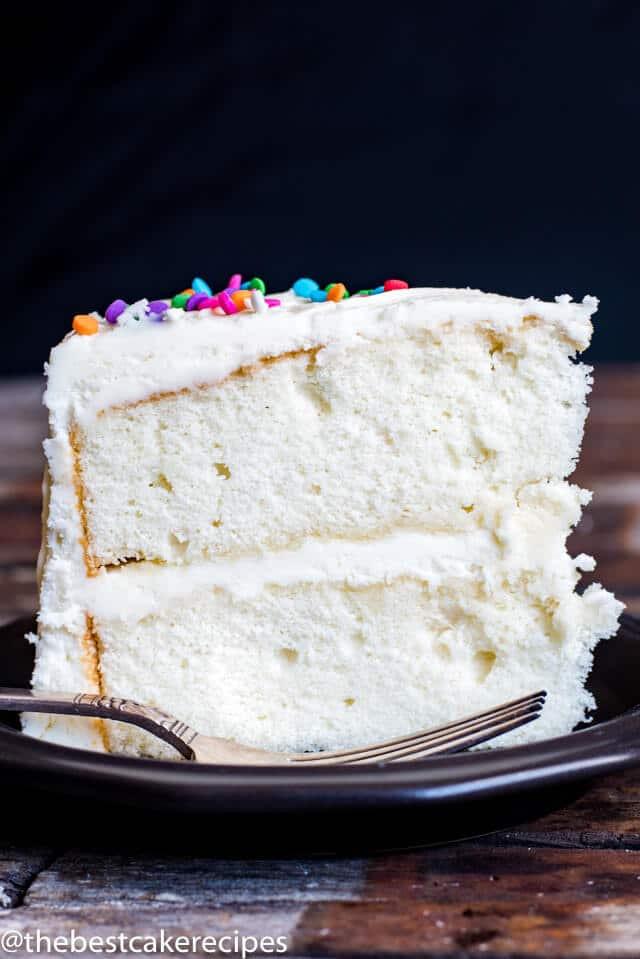 Best Vanilla Cake Recipe  Vanilla Cake Recipe From Scratch Homemade Cake with