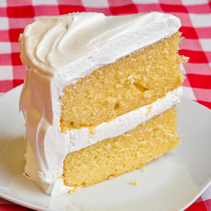 Best Vanilla Cake Recipe  The Best Vanilla Cake & Fluffy Marshmallow Frosting