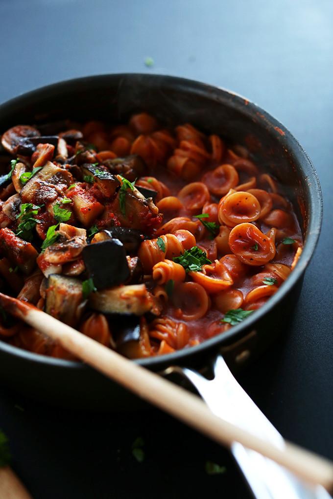 Best Vegan Dinner Recipes  1 Pot Vegan Pasta