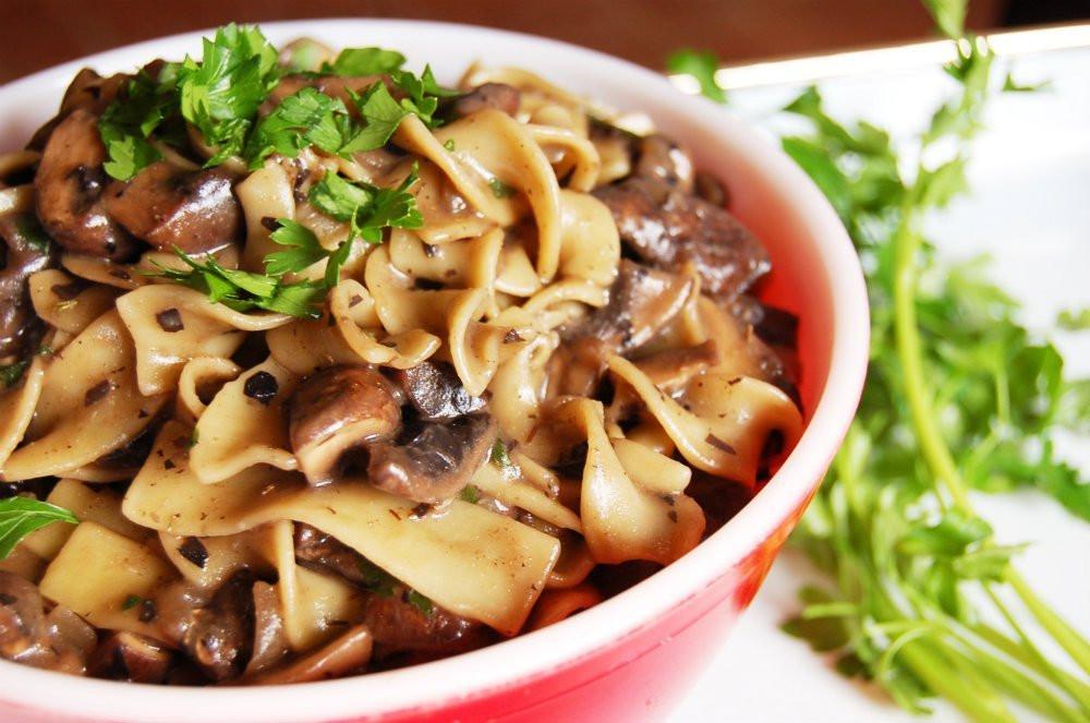 Best Vegan Dinner Recipes  Mushroom Stroganoff [Vegan] e Green Planet