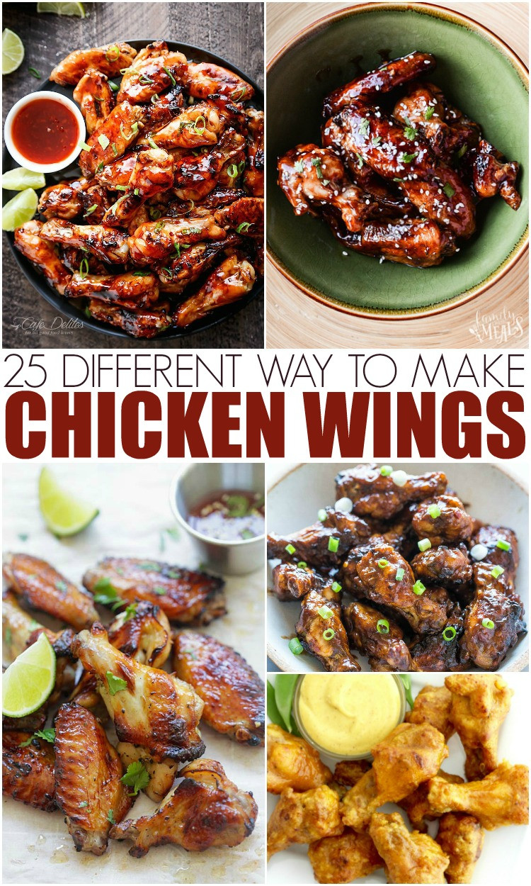 Best Way To Cook Chicken Wings  25 Different Ways To Make Chicken Wings Mamanista