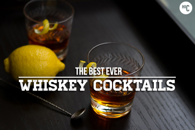 Best Whiskey Cocktails  Essential Cocktail Recipes 30 Best Whiskey Drinks
