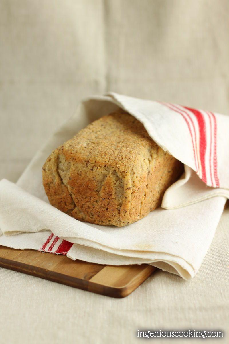 Best Whole Grain Bread  My best gluten free whole grain bread ever vegan