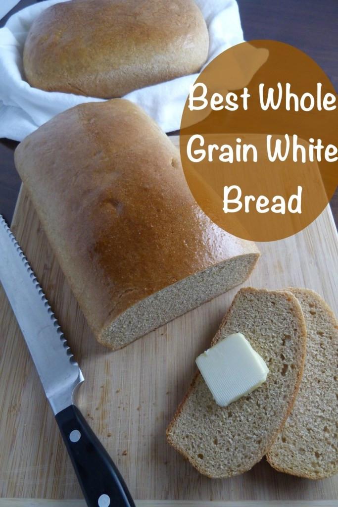 Best Whole Grain Bread  Best Whole Grain White Bread 3 Scoops of Sugar