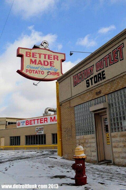 Better Made Potato Chips  Better Made Michigan Outdoors Pinterest