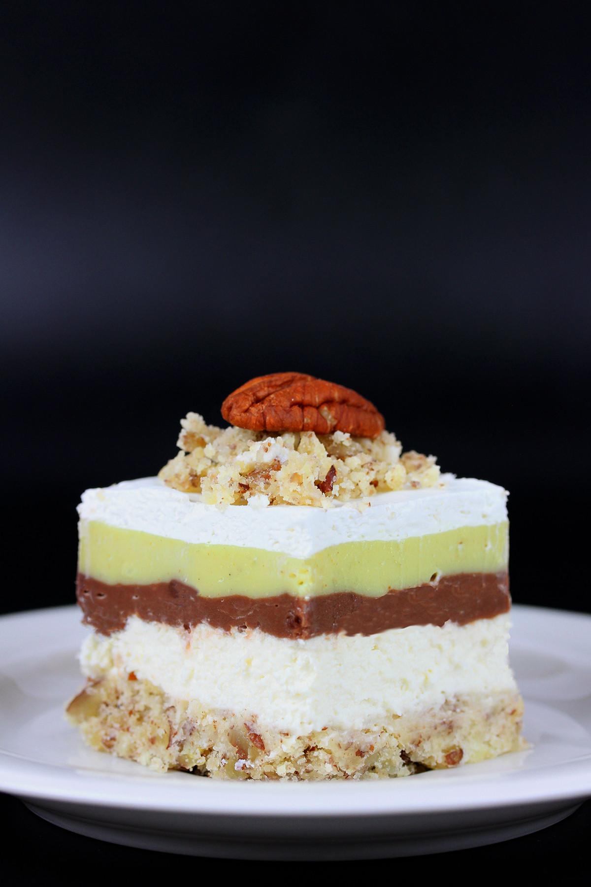 Better Than Robert Redford Dessert  Better than Robert Redford Dessert or Cake Vegan Gluten