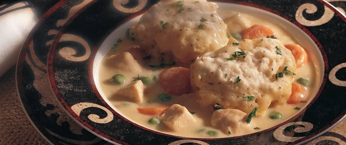 Betty Crocker Chicken And Dumplings  Chicken and Black Pepper Dumplings recipe from Betty Crocker