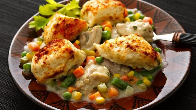 Betty Crocker Chicken And Dumplings  Chicken and Dumplings with Ve ables recipe from Betty