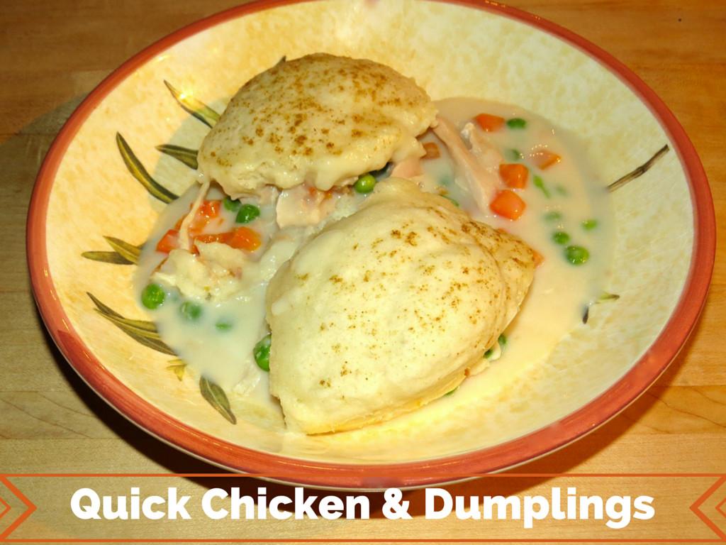 Betty Crocker Chicken And Dumplings  Betty crocker recipes for chicken and dumplings Food