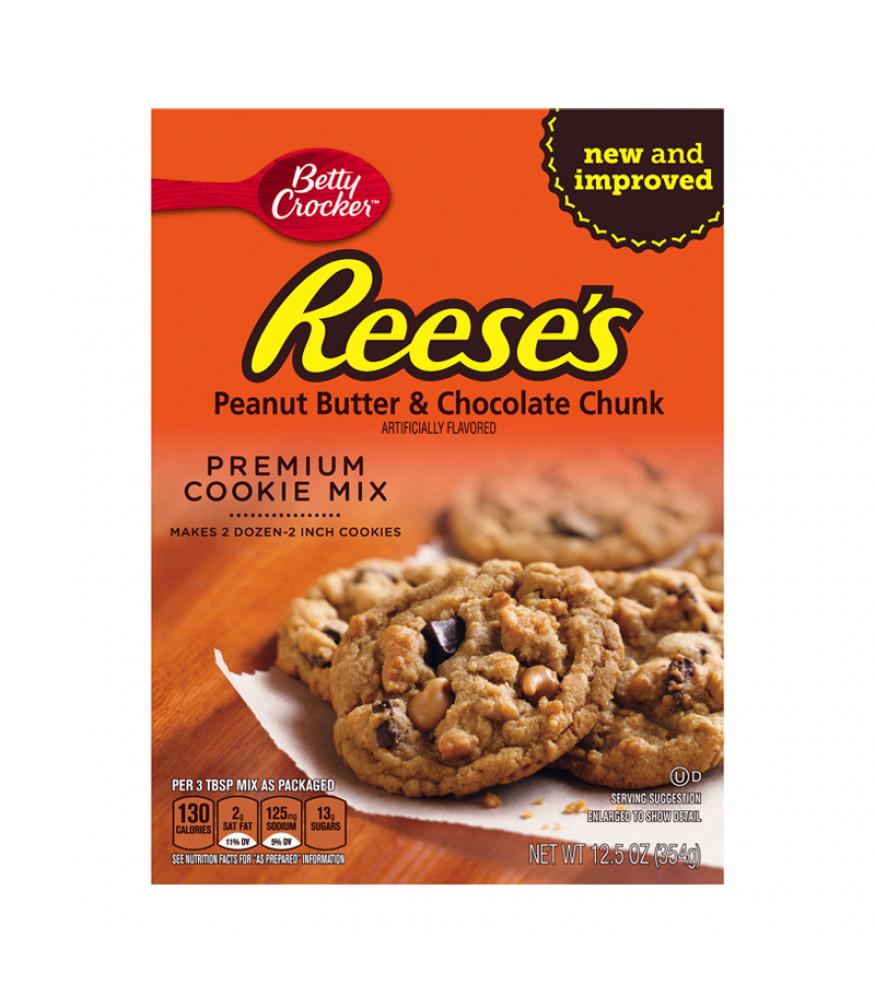 Betty Crocker Peanut Butter Cookies  Betty Crocker Reese s Peanut Butter Cookie Mix 12 5oz