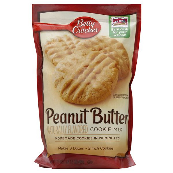 Betty Crocker Peanut Butter Cookies  Betty Crocker Cookie Mix Peanut Butter Be My Shopper