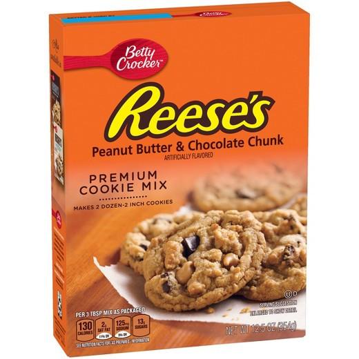 Betty Crocker Peanut Butter Cookies  Betty Crocker Reese s Peanut Butter & Chocolate Chunk