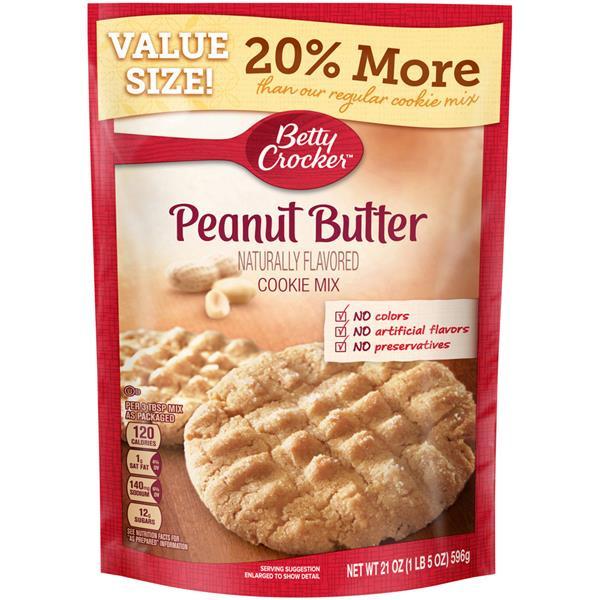 Betty Crocker Peanut Butter Cookies  Betty Crocker Peanut Butter Cookie Mix