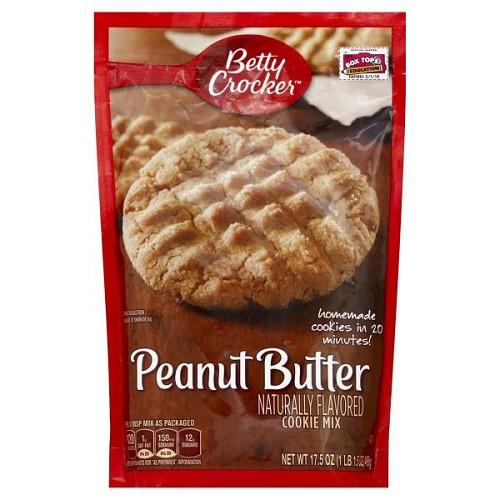 Betty Crocker Peanut Butter Cookies  Betty Crocker Cookie Mix Peanut Butter 17 5 oz bag