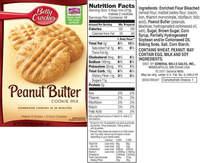 Betty Crocker Peanut Butter Cookies  peanut butter cake mix cookies betty crocker