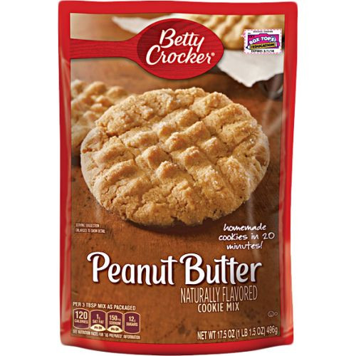 Betty Crocker Peanut Butter Cookies  Betty Crocker Peanut Butter Cookie Mix 496gm Home