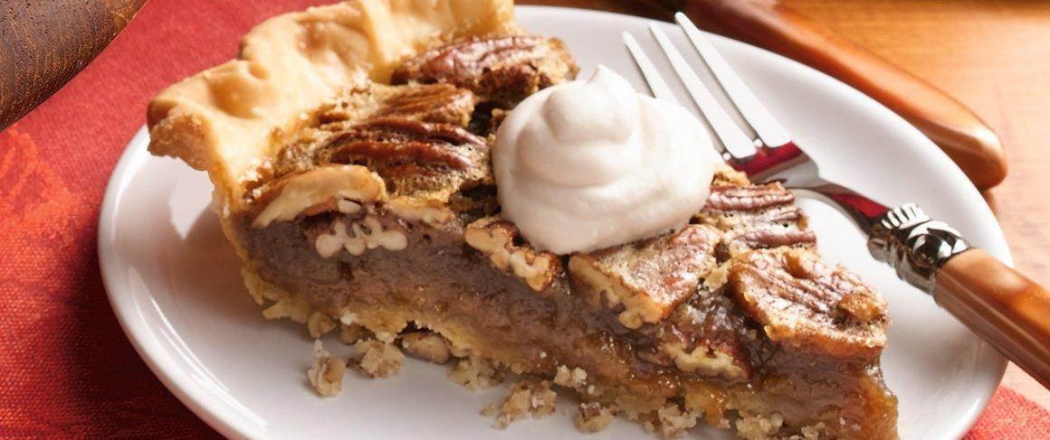 Betty Crocker Pecan Pie  Bourbon Pecan Pie with Pecan Crust recipe from Betty Crocker
