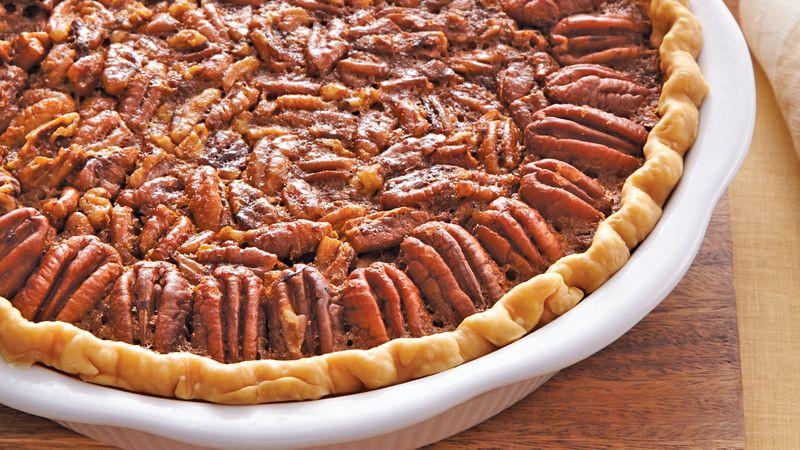 Betty Crocker Pecan Pie  Decadent Pecan Pie recipe from Betty Crocker