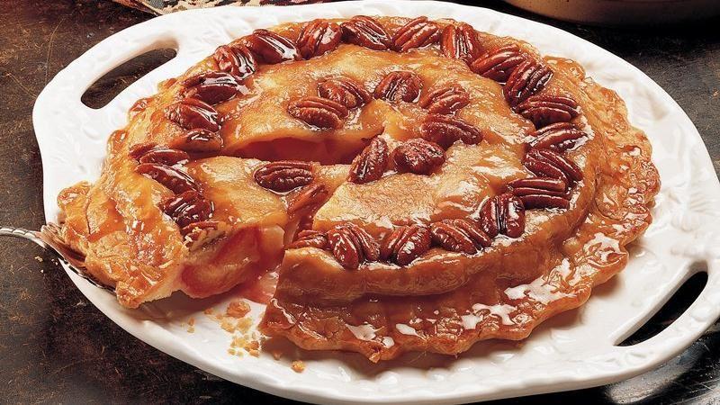 Betty Crocker Pecan Pie  Upside Down Plum Pecan Pie recipe from Betty Crocker