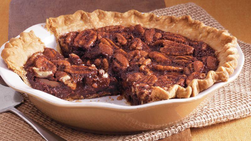 Betty Crocker Pecan Pie  Bittersweet Chocolate Pecan Pie recipe from Betty Crocker