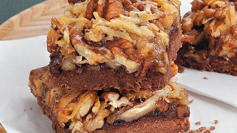 Betty Crocker Pecan Pie  German Chocolate Pecan Pie Bars recipe from Betty Crocker