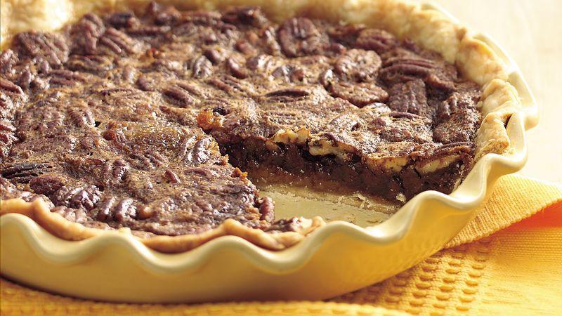 Betty Crocker Pecan Pie  Kentucky Pecan Pie lighter recipe recipe from Betty Crocker