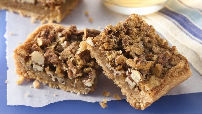 Betty Crocker Pecan Pie  Easy Pecan Pie Bars recipe from Betty Crocker