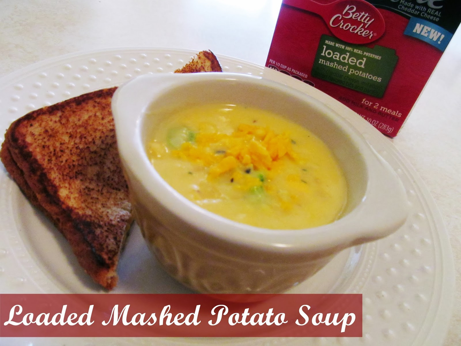 Betty Crocker Potato Soup  Babblings of a Mommy Loaded Mashed Potato Soup With Betty