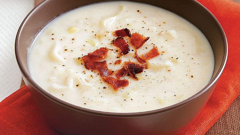 Betty Crocker Potato Soup  Leek and Potato Soup recipe from Betty Crocker
