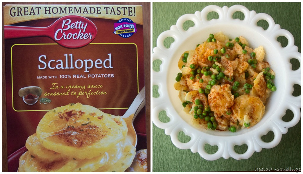 Betty Crocker Scalloped Potatoes  The Perfect Pairing Week Night Dinners with Betty