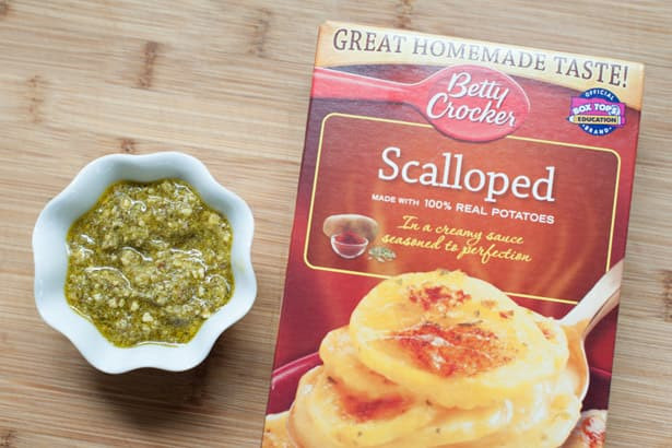 Betty Crocker Scalloped Potatoes  betty crocker scalloped potatoes ham