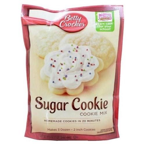 Betty Crocker Sugar Cookies  Betty Crocker Sugar Cookie Mix 17 5 Ounces Pack of 12