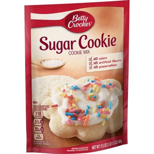 Betty Crocker Sugar Cookies  Betty Crocker Sugar Cookie Mix 17 5oz Tar