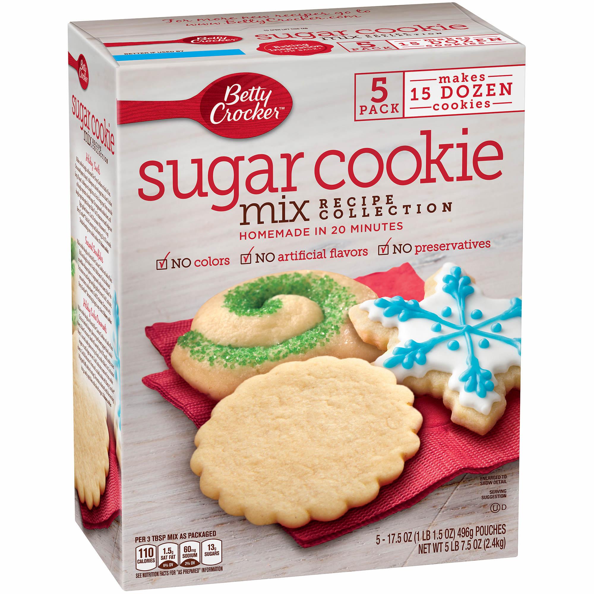 Betty Crocker Sugar Cookies  Betty Crocker Sugar Cookie Mix 5 ct 17 5 oz BJ s